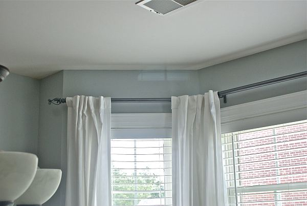 Pictures Of Kitchen Curtains Galvanized Pipe for Curtain Rod