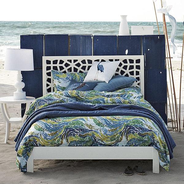 swirl modern bedding