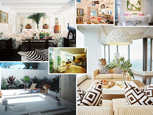tropical house decorations Make a Splash With Tropical Interior Design