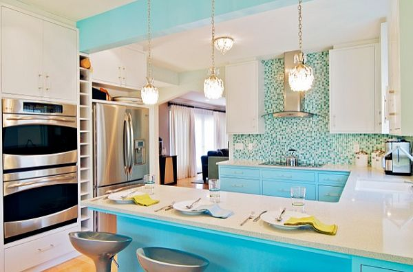 Decorating with a caribbean influence for Kitchen designs 2015