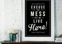 A Picture Speaks A Thousand Words, Typography Asks a Thousand More: Stylish Art for Any Room