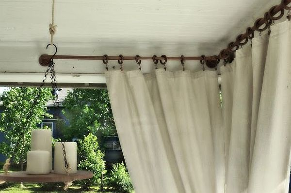 vintage PVC pipe curtain rod The Pipe Dream: Making PVC Piping More Than A Waterway for Your Home