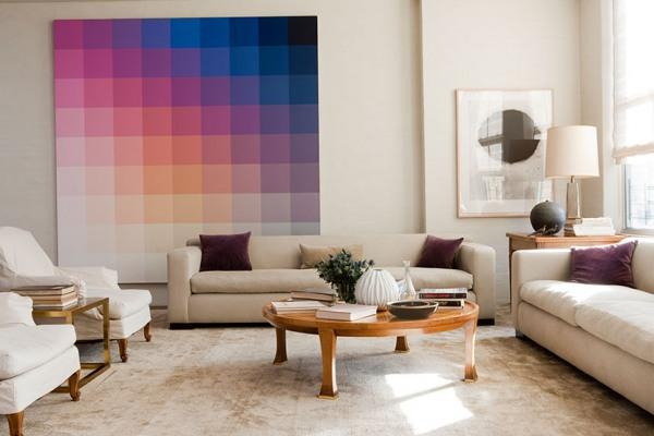 wall art ombre