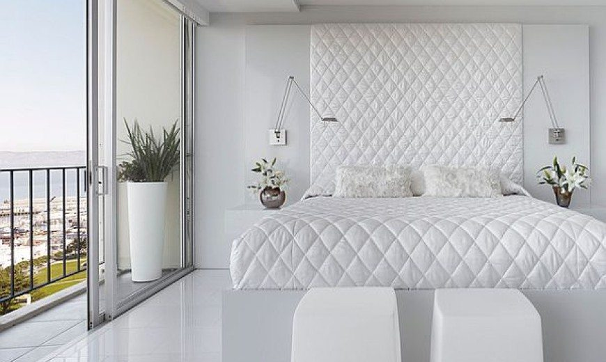 Spicing Up Your White Bedroom: The Perfect Backdrop of Color and Décor