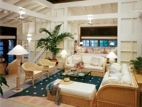 Caribbean Themed Living Room