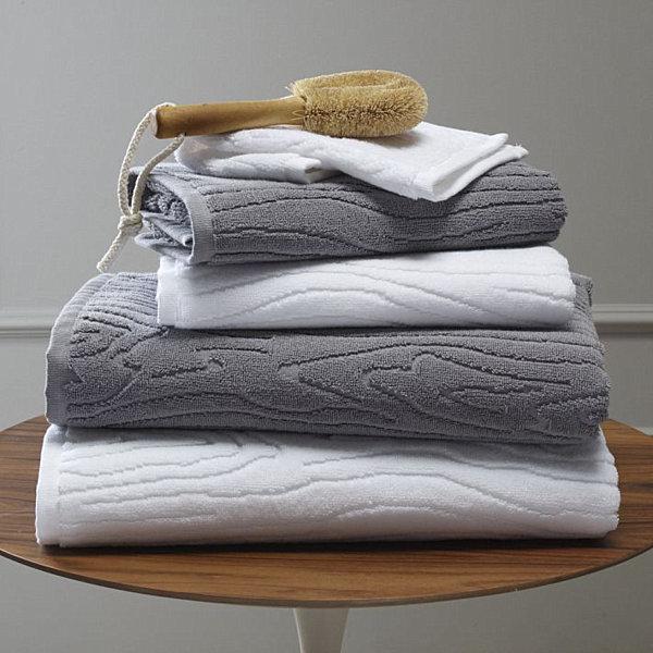 woodgrain towels