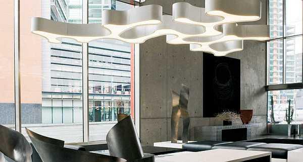Ameba pendan lamp by Vibia