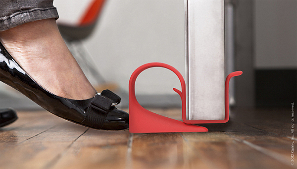 Interior Door Handles >> Cool Door Stopper for a Sleek Interior