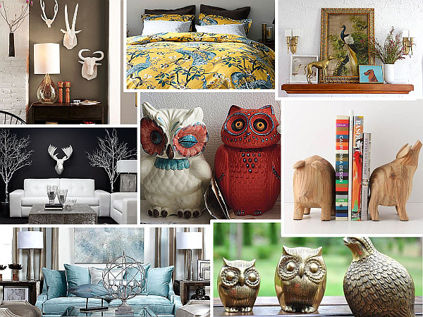 Awesome Creature Features: Animal Themed Decor