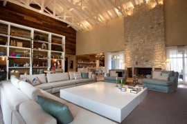 Farmhouse converted into rustic and luxurious villa