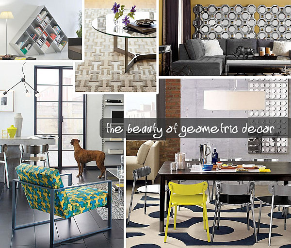 View In Gallery Beautiful Geometric Decor Shape Up Your Space With Geometric Decor