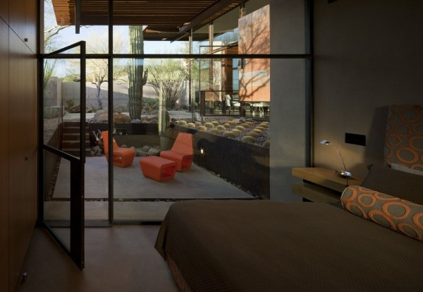 Brown Residence - bedroom view