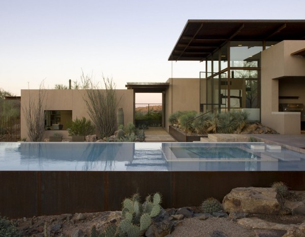 Brown residence transparent beauty designed to take on for Beauty residence