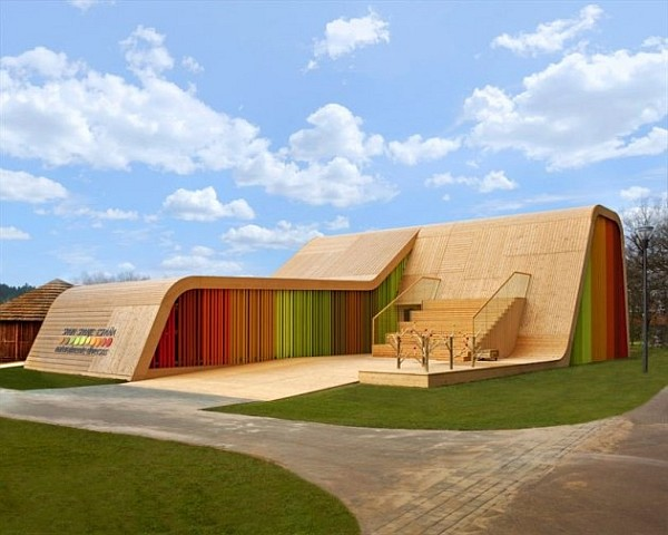 Colorful Spanish Pavilion 1