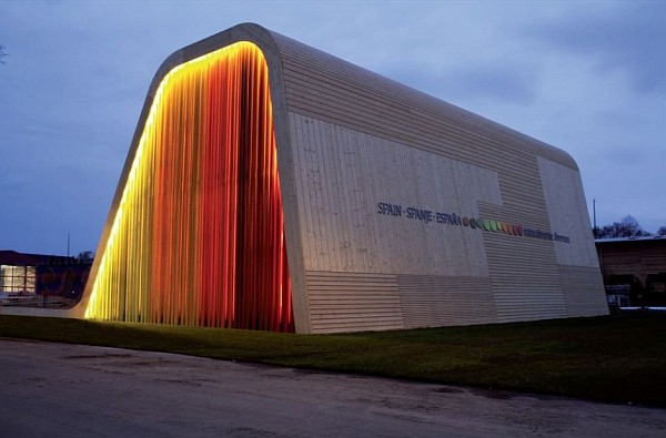 Colorful Spanish Pavilion 4