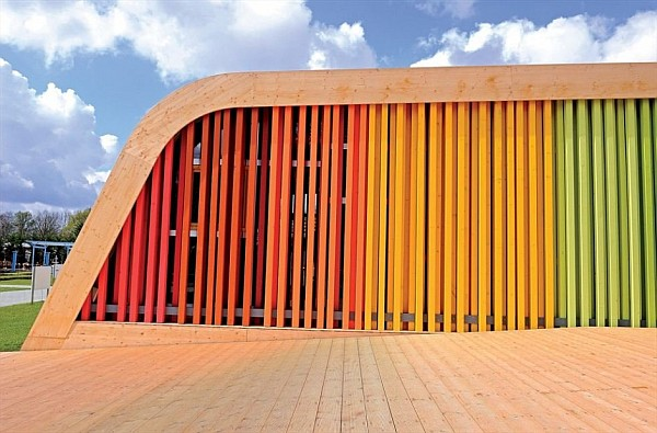 Colorful Spanish Pavilion 5