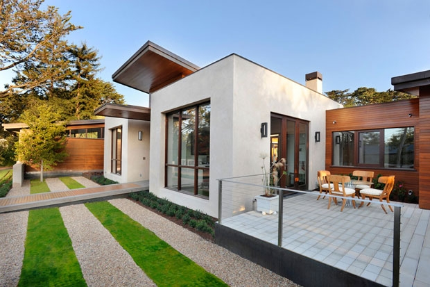 Contemporary Green Home California 1 Contemporary Green Home Charms With Sleek Pool and Mini Golf Course
