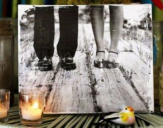 DIY Photo Gallery For Your Home