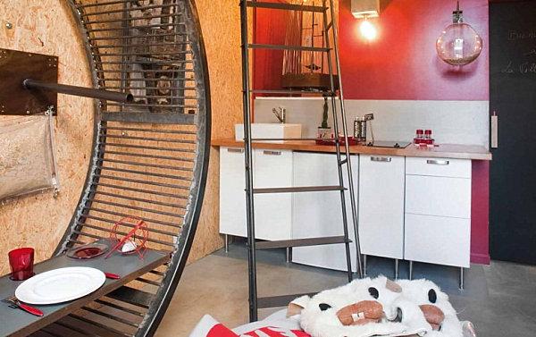 La Villa Hamster hotel in France