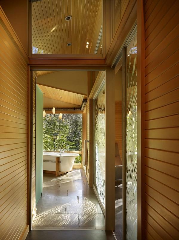 Lake Forest Park Renovation – wood furnished bathroom