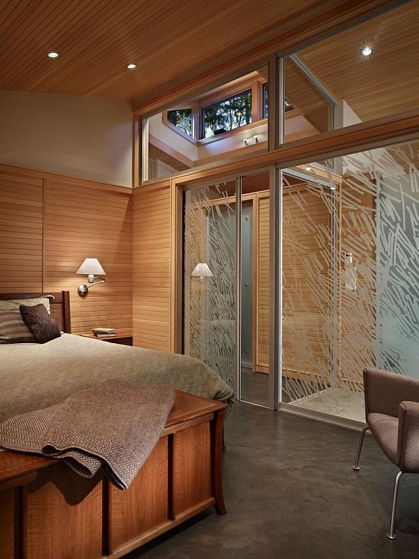 Lake Forest Park Renovation – wooden bedroom decor