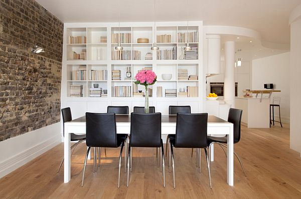 London-Apartment-contemporary-dining-room