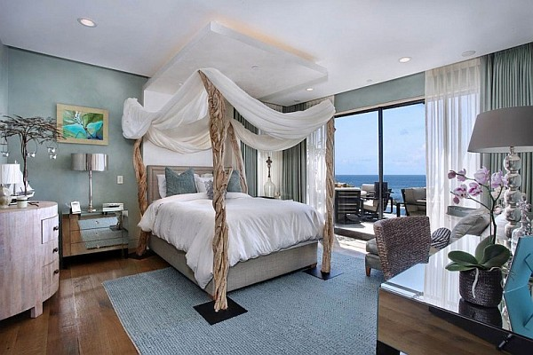 Luxury Beach House Laguna Beach California Baldachio