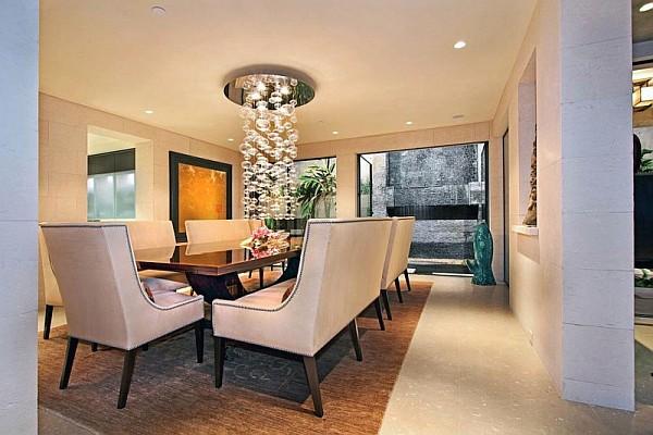 luxury beach house laguna beach california traditional dining table. Black Bedroom Furniture Sets. Home Design Ideas