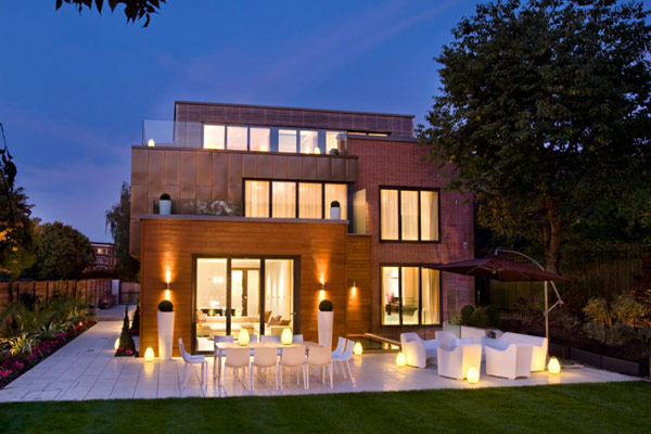 Luxury English Villa 1 Contemporary, Luxurious Interiors at Grange View Residence in UK