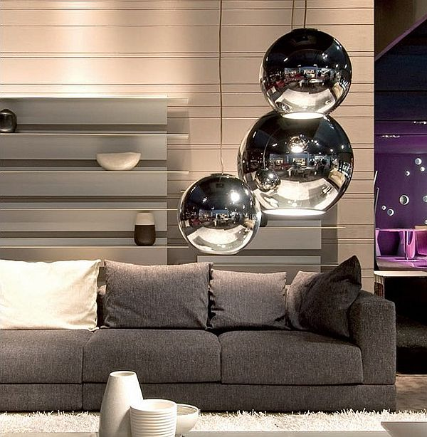 Modern Globo di Luce Lamp for a Luxury Living Room