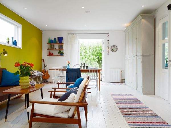 Nordic interior design idea for a vibrant contemporary home - Nordic interior design ...