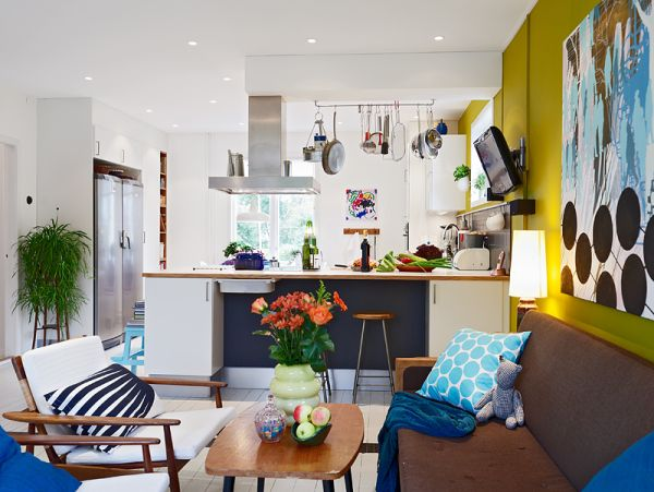 Nordic interior design idea for a vibrant contemporary home for Combinacion de colores para interiores