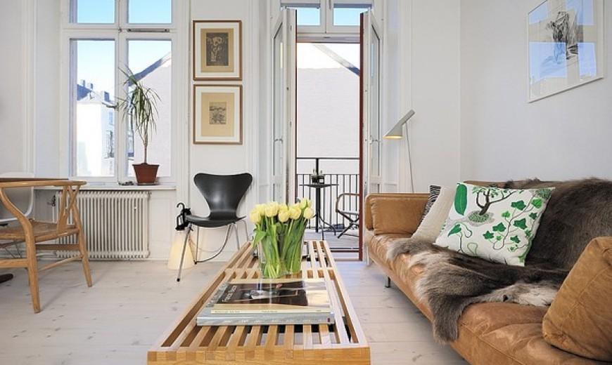 scandinavian modern home book