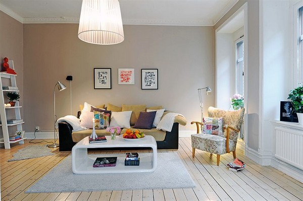 Funky Scandi Living Room