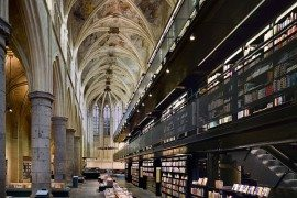 Church Conversion: Dominican Church in Maastricht Turned Contemporary Bookstore