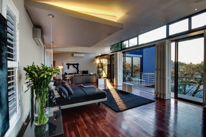 South African House Remodeling – amazing bedroom views
