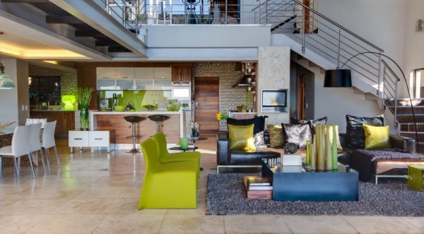 South-African-House-Remodeling-open-kitchen-concept-with-fancy-living-room-600x331