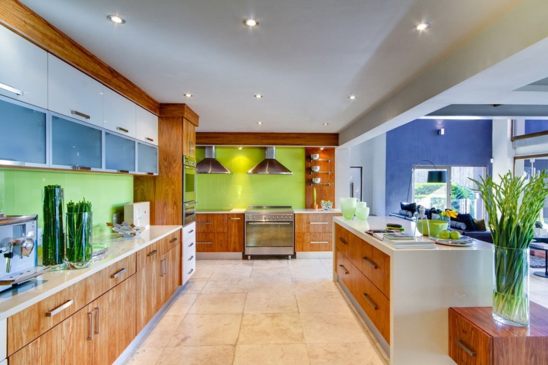 South African House Remodeling – sleek kitchen furniture style