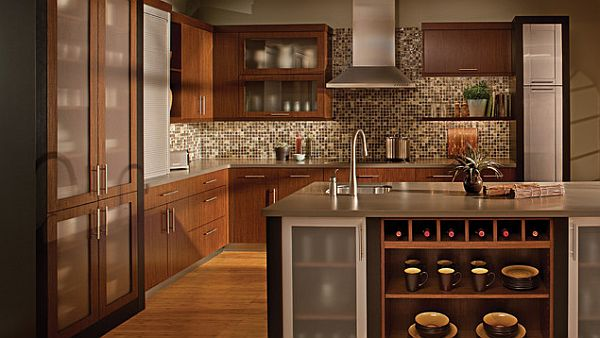 Urban loft living kitchen with dark colors How to Design a Kitchen for Multiple Chefs