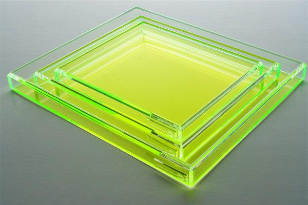 alexandra von furstenberg neon acrylic tray