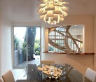 artichoke pendant lamp in modern furniture design
