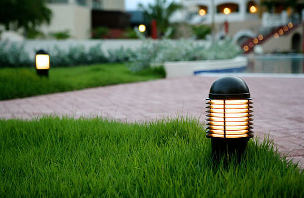 bollard lamps for the garden