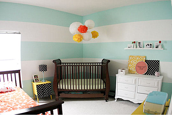Kid spaces 20 shared bedroom ideas for Shared boy and girl room ideas