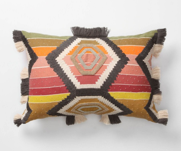 Tribal patterns for your inside decorations tree for Insider design pillow