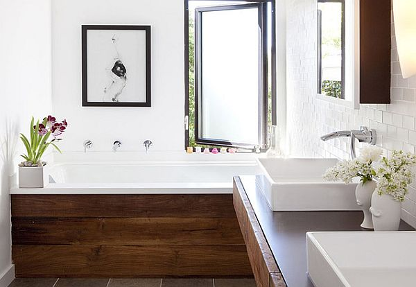 chic-bathroom-with-wooden-accents