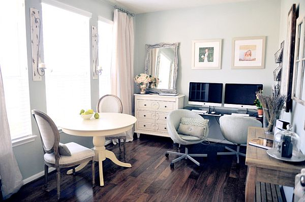 chic home office for a girl  Feminine Home Office Designs and How to Pull it Off