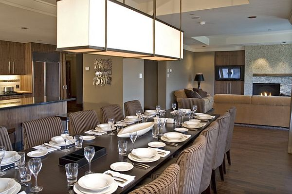 view in gallery - Dining Room Light Fixtures Modern