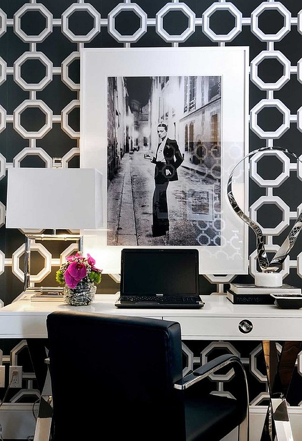 Astounding Feminine Home Office Designs And How To Pull It Off Largest Home Design Picture Inspirations Pitcheantrous