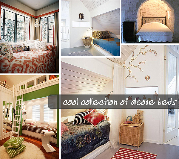 cool collection of alcove beds 12 Cool Alcove Beds
