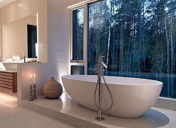 Over the top inspirational bathroom designs for Forest bathroom ideas